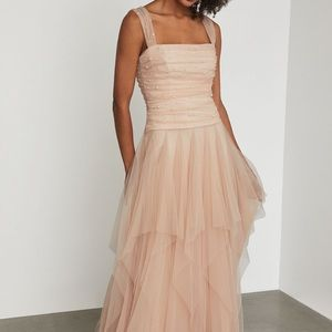 Never worn tulle gown